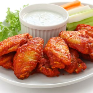 Truly Crispy Oven Baked Chicken Wings.