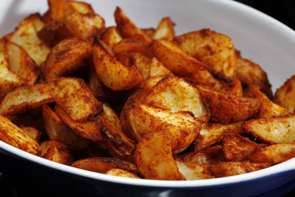 Ultra Crispy Baked Potato Wedges Taste Amazing.