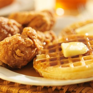 The Tastiest Chicken And Waffles You'll Ever Eat
