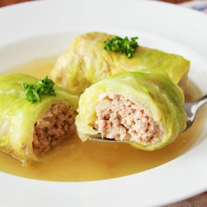 Stuffed Rolled Cabbage