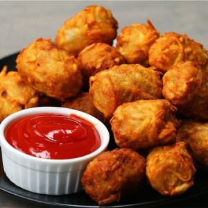 Cheese-Stuffed Tots