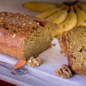 Eggless Banana Bread For You.