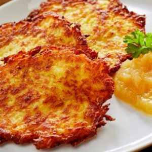 Potato Pancakes Are Irresistible
