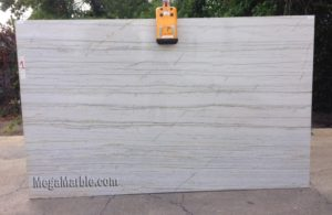 White Macaubas Polished Quartzite Slab