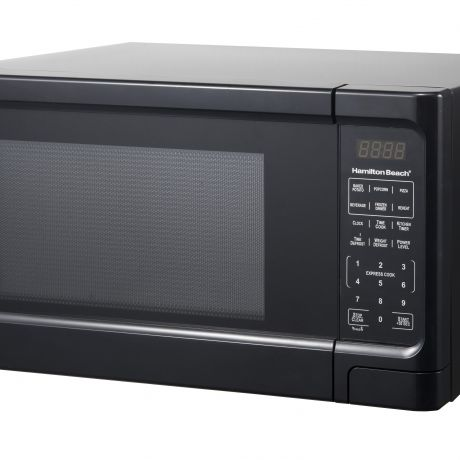 hamilton beach p100n30ap s3b 1 1 cu ft black digital microwave oven