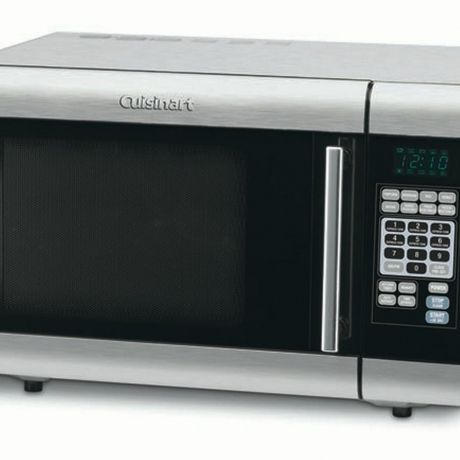 cuisinart cmw 100 1 0 cu ft stainless steel microwave oven