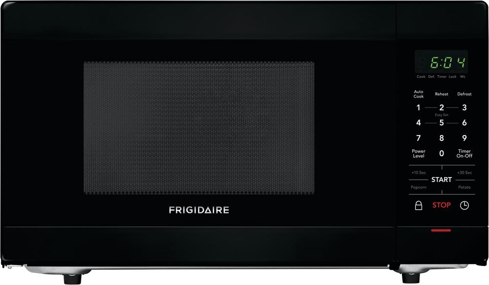 frigidaire ffcm1155ub black 1 1 cu ft countertop microwave
