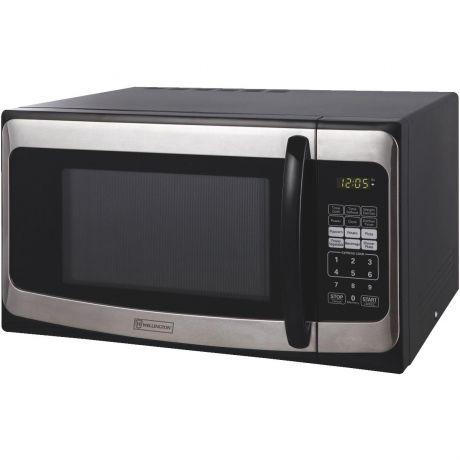 perfect aire 1 1 cu ft black countertop microwave 2wssm11