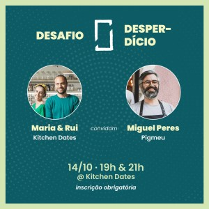Desafio Zero Desperdício: Miguel Peres, 14/10