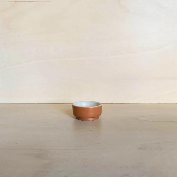 Kitchen Dates – tigela mini cilíndrico (terra)