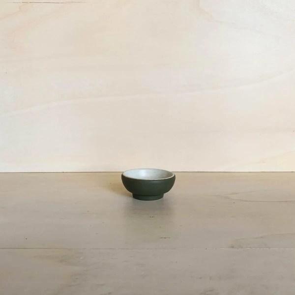 Kitchen Dates – tigela mini circular (verde)