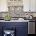 53 Cool White Cabinet Kitchen Backsplash Tile Pattern Ideas