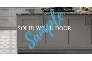 Solid Wood Door Sample