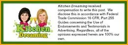 Kitchen Dreaming Federal disclosure