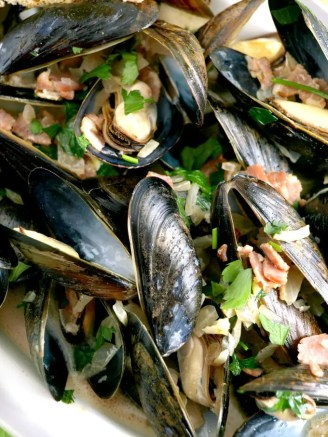 Irish Mussels in Ale