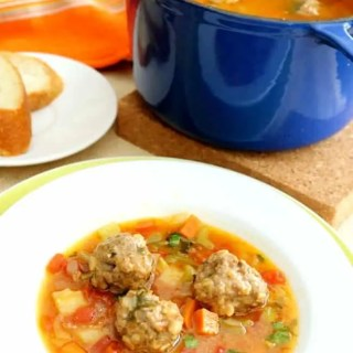 This fragrant Mexican Meatball Soup, traditionally called Albondigas, is loaded with vegetables and full of flavor. It's also ready in just 30-minutes.