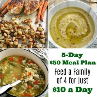 When you're on a restricted budget, keeping costs down is essential. However, you still have to eat making food one of the largest household expenses. However, there are ways to keep the food bill in control. So when Harris Teeter threw down the gauntlet and challenged me to create a five-day meal plan for a family of four for just $10 a day.