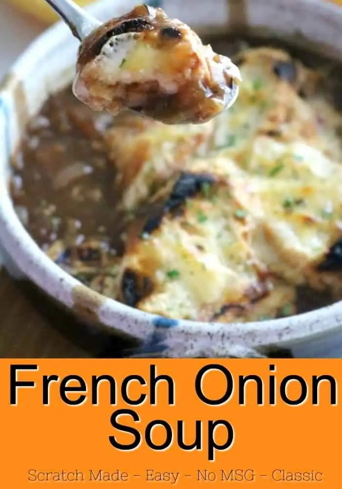 This step-by-step recipe makes the best French Onion Soup you've ever eaten. Bring fine French cooking into your own kitchen. Let me show you how easy it is!