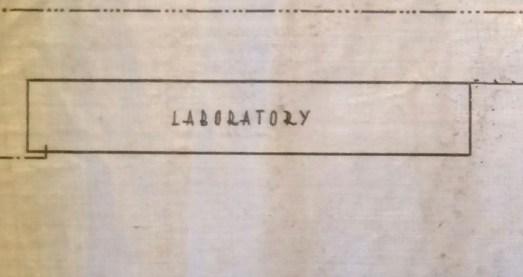 Kitchener camp, laboratory