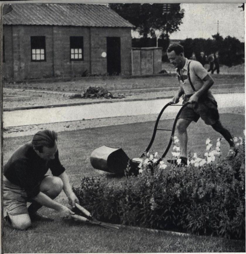 Kitchener camp, Some Victims, 1939 - gardening