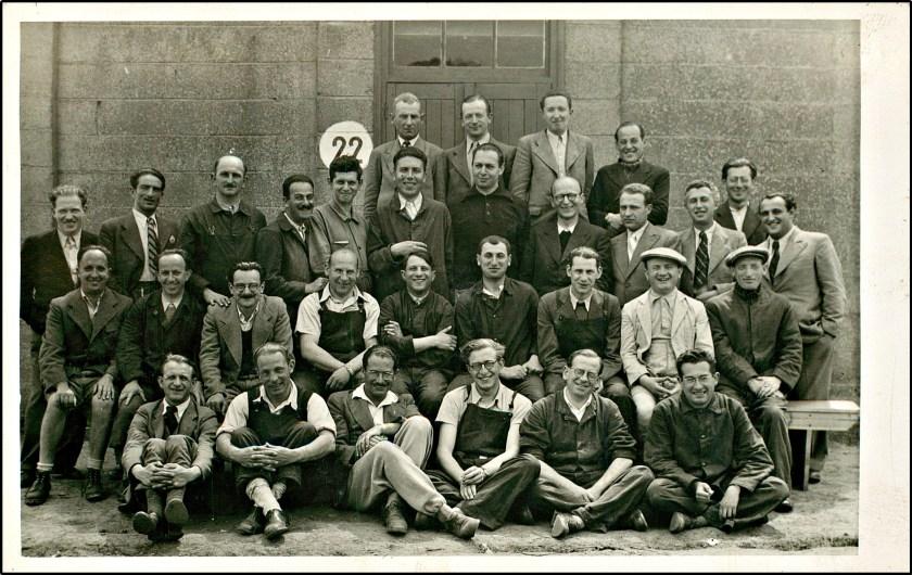 Richborough camp, Hut 22, Fritz Bleicher, 1939