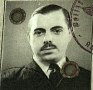 Kitchener camp, Wolfgang Priester, Photograph from Reisepass, Deutsches Reich, Document, German passport, photograph