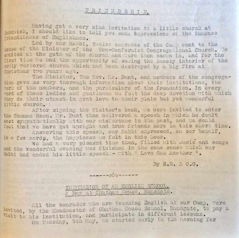 Kitchener Camp Review, June 1939, page 16, base
