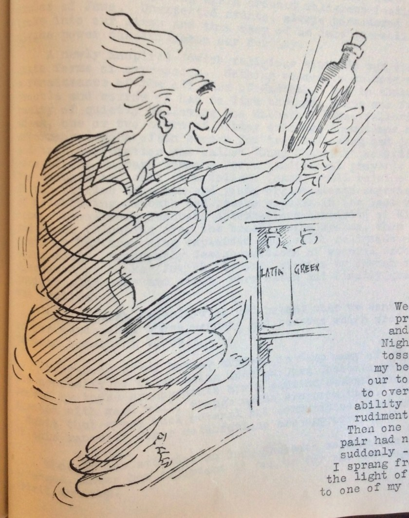 The Kitchener Camp Review, August 1939, Drawing detail, page 13