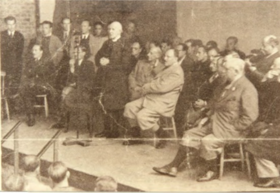 Kitchener camp, Peter Weiss, Autobiography, Archbishop of Canterbury visit