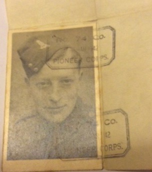 Kitchener camp, Werner Horst Philippsen, Pioneer Corps, 74 Company, 1942