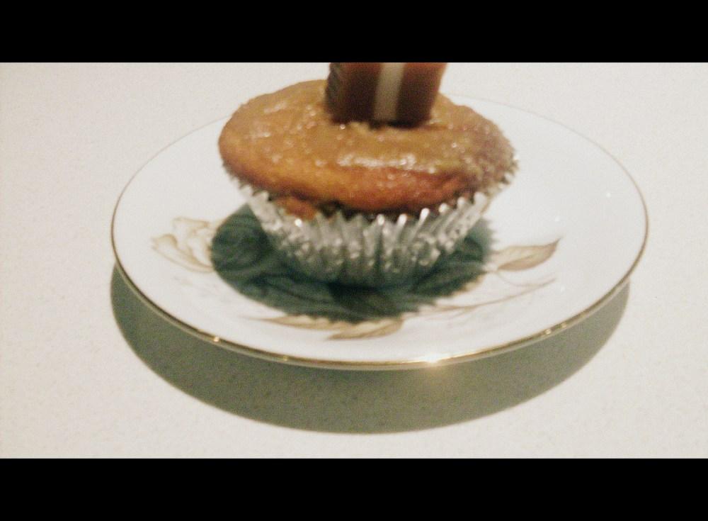 Caramel cupcakes (1/2)