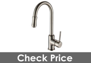 Kraus KPF-1622SN Single Lever Pull Down Kitchen Faucet Satin Nickel