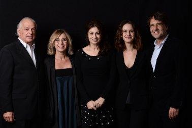 Riccardo Zucconi, Concita De Gregorio, Francesca Archibugi, Valentina Bellè, Francesco Ranieri Martinotti