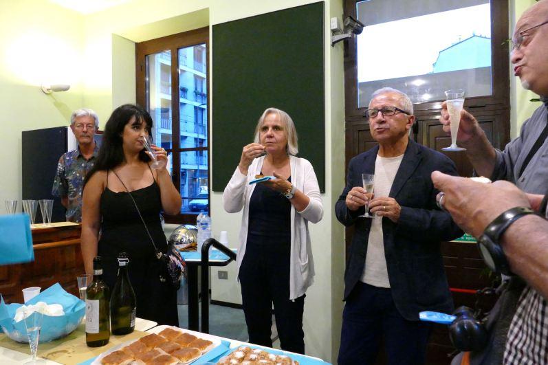 Mariam Ferjani, Emanuela Piovano, Domenico Dinoia