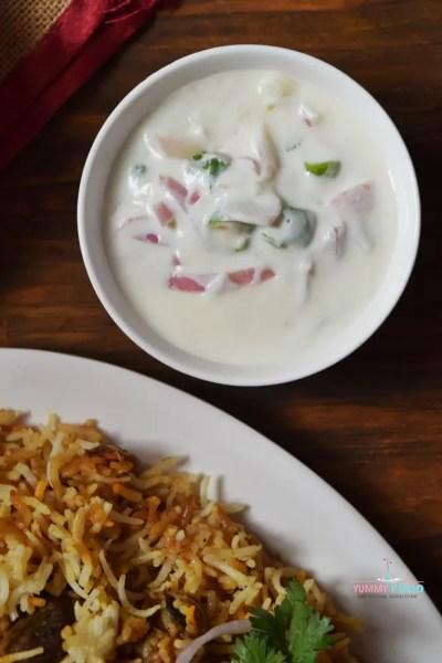 Dahi Ki Chutney | Onion Raita