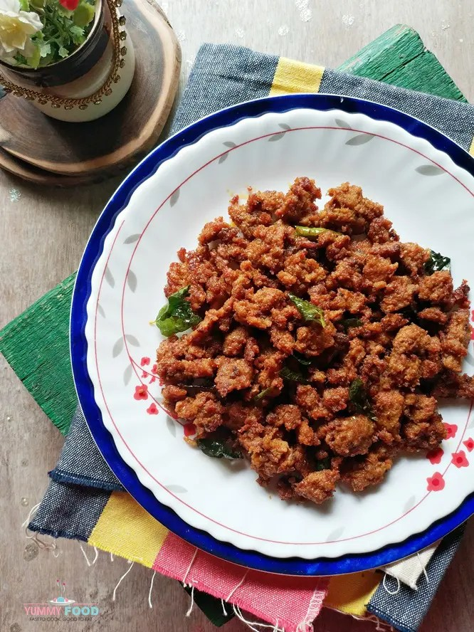 how to make andhra mutton keema
