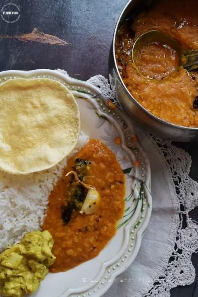 Dosakaya Pappu – Yellow Cucumber Dal