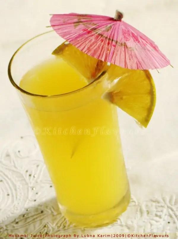 Fresh Mosambi Juice