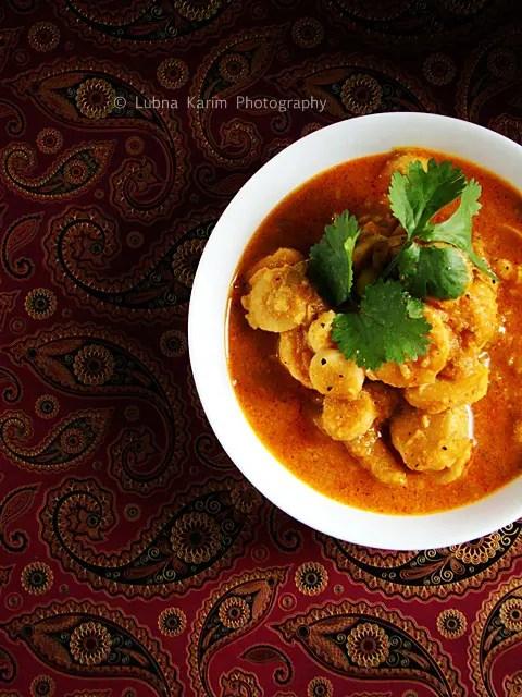 Arvi Ka Salan/Taro Root In Coconut Gravy