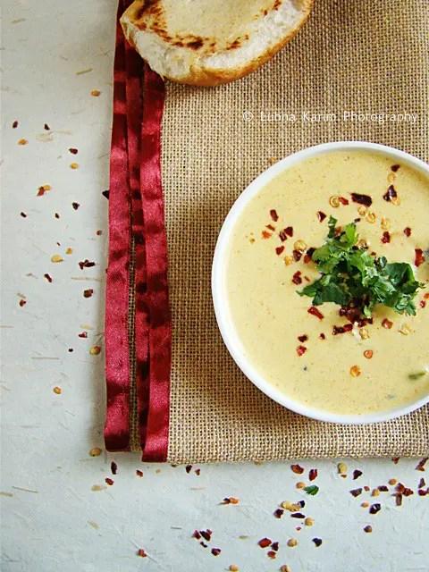 Kadhi - Tempered Yogurt Soup4