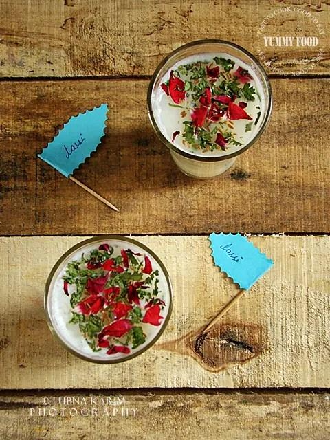 Cumin-Coriander Flavored Oats Lassi