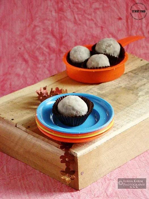 Date Walnut Truffles