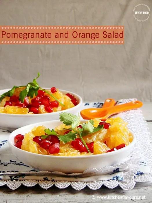 Kylie Kwong's Orange Pomegranate Coriander Salad