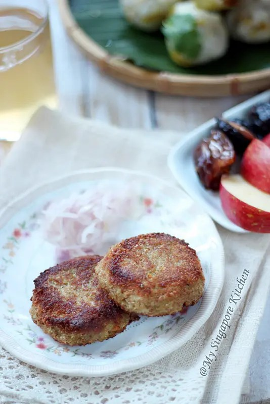 Pan Fried Chicken and Carrot Cutlets