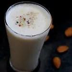 badam-milk-shake- recipe