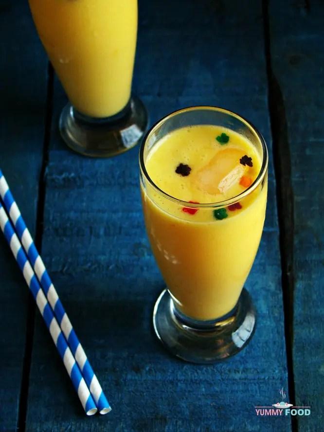 Mango Yogurt Smoothie with Oats