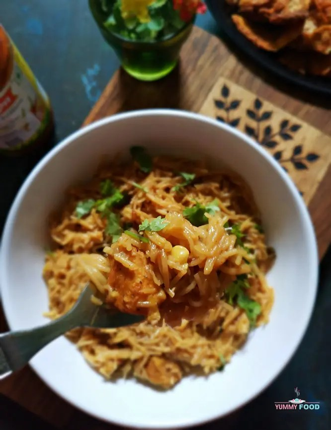 Cashew Chicken Vermicelli
