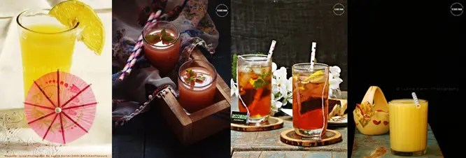 Chilled Summer Drinks