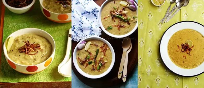 Must Try haleem recipes