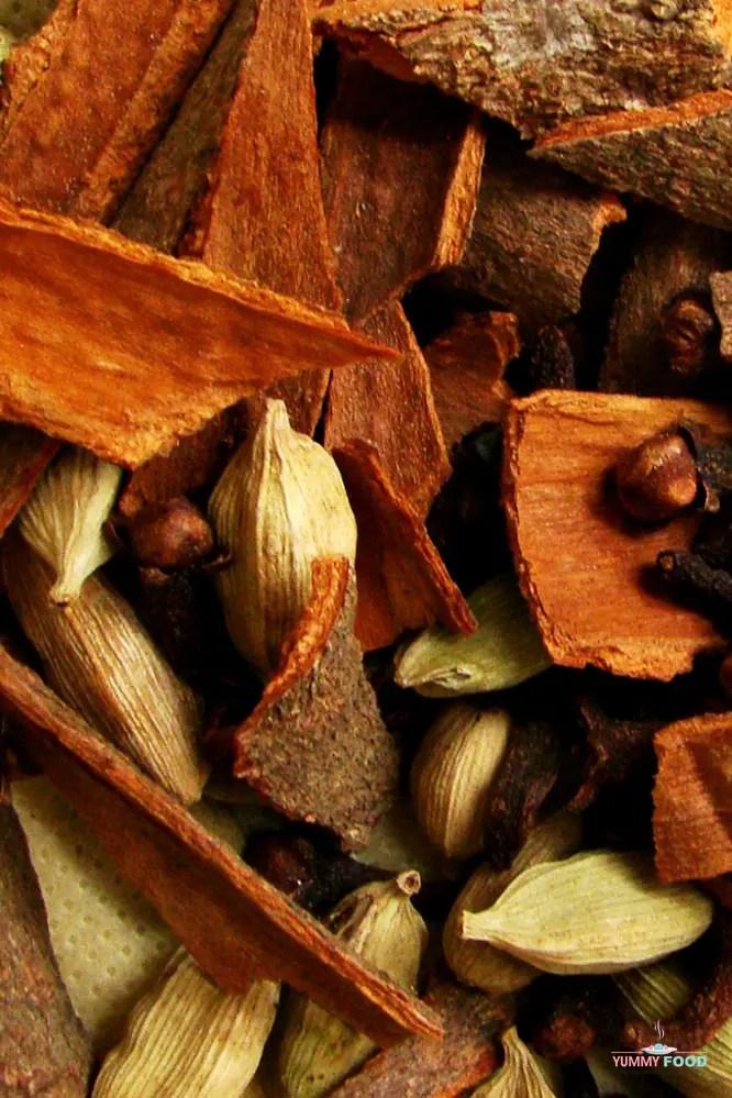 spices to make garam masala at home